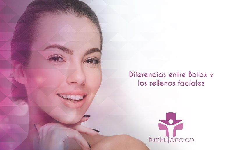 Diferencias entre Botox y los rellenos faciales